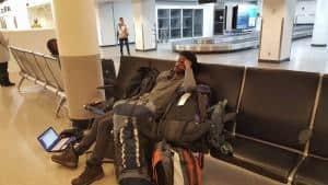 Airport in Boston