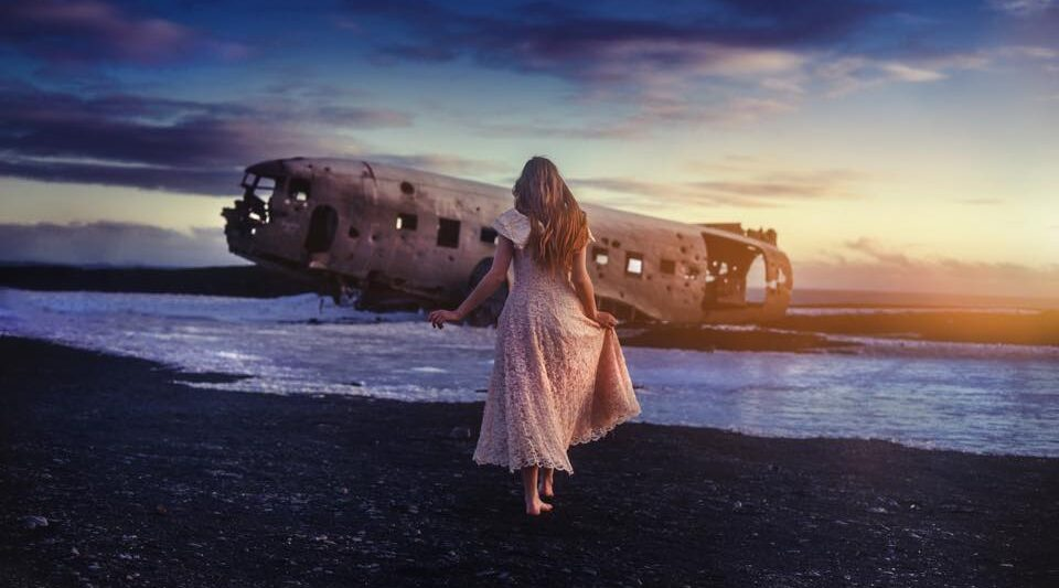 Iceland's Airplane Wreck