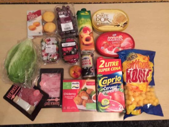 What  of Groceries Looks Like Around Europe
