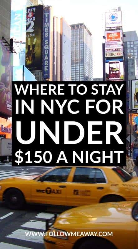 Budget Hotels Near Times Square In New York City