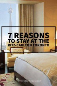 7 Reasons To Stay At The Ritz-Carlton Toronto For Your Next Getaway   Luxury Hotel Rooms   What To Do In Toronto   Where To Stay In Toronto   Ritz-Carlton Toronto Hotel Review   Toronto Travel Tips   Best Luxury Hotels   Luxury Travel Tips   Follow Me Away Travel