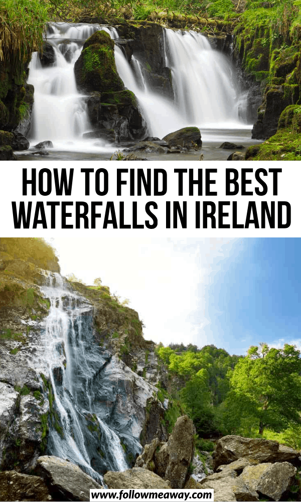 how to find the best waterfalls in ireland