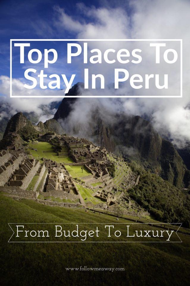Where To Stay In Peru: Top Wanderlust-Worthy Airbnb Locations | Top places to stay in Peru | what to do in Peru | best peru itinerary | what to do in Peru | top things to do in Peru | backpacking peru tips
