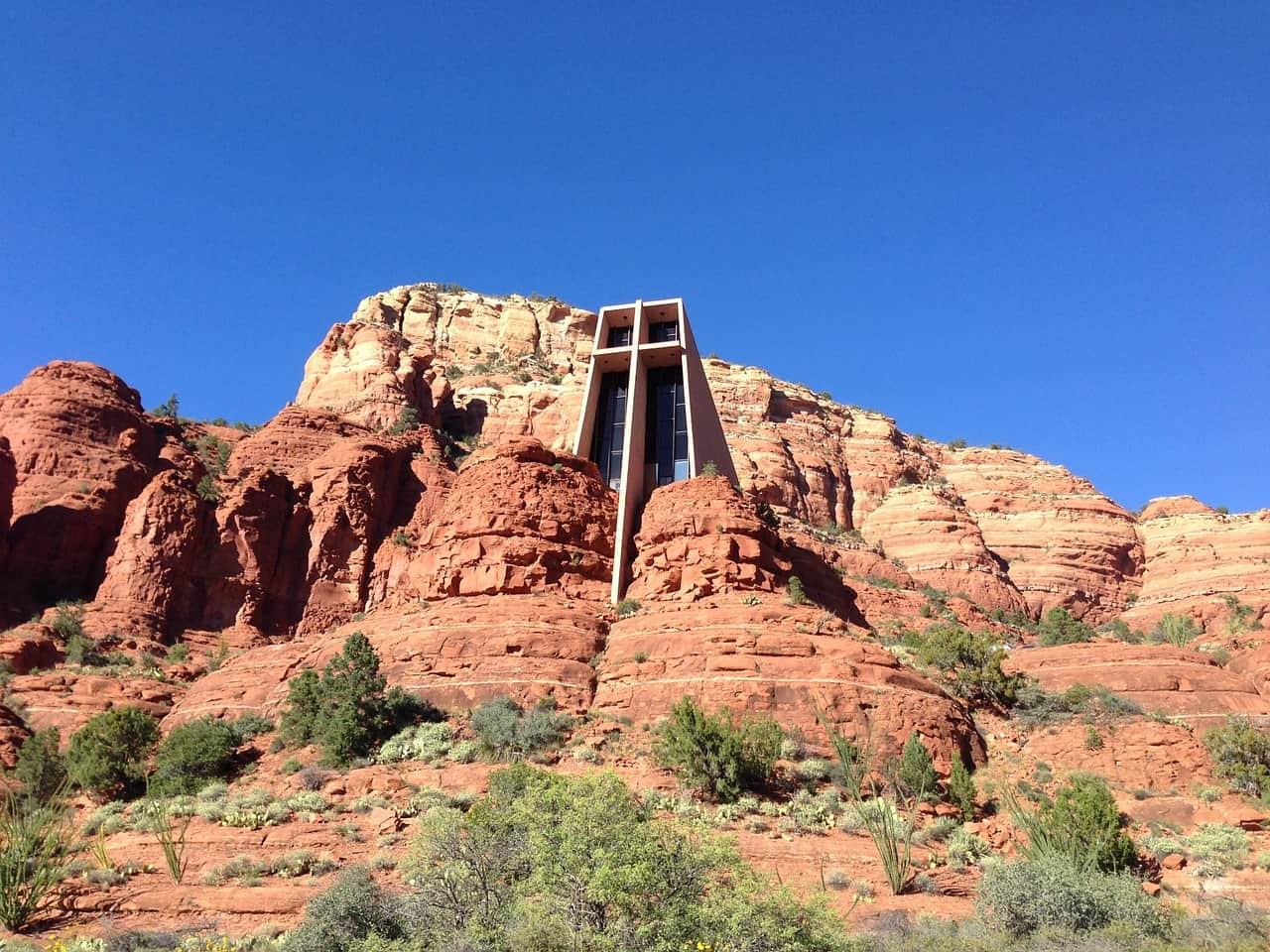The church of the holy cross in Sedona Arizona
