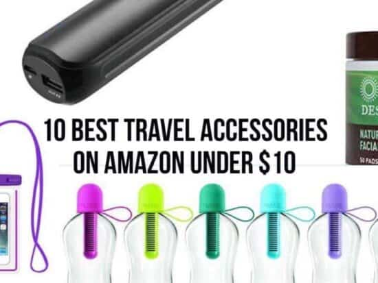 10 Of The Best Travel Accessories Under  You Can Buy On Amazon