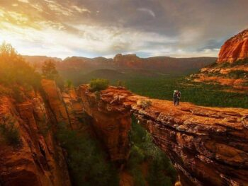 Devils Bridge hike Sedona Arizona road trip