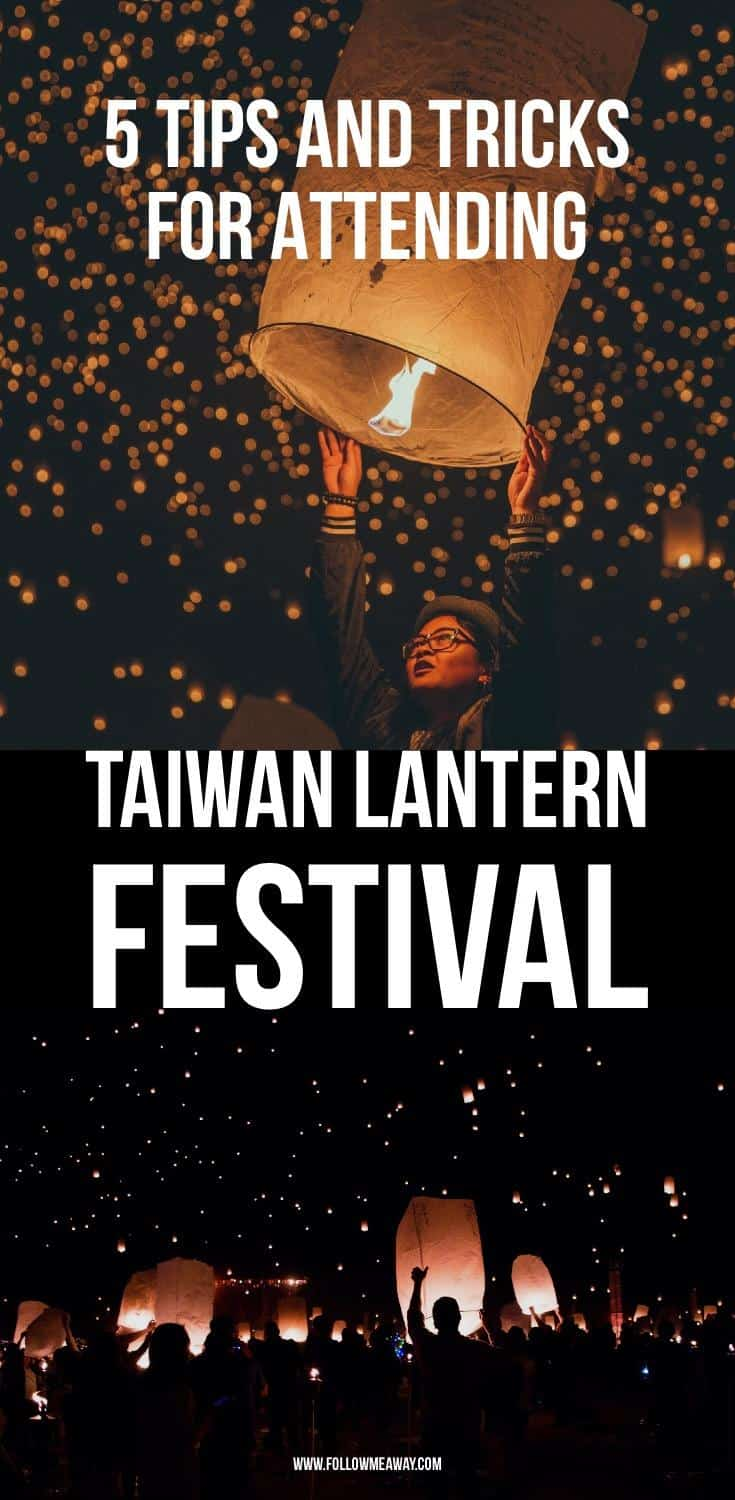 5 Things To Know About The Taiwan Lantern Festival 2018 | Lantern Festival Tips | Chinese Lanterns | Floating Lanterns | where to see floating lanterns | Taiwan travel tips | taiwan travel | what to do in Taiwan | best things to do in taiwan | where to see floating lanterns