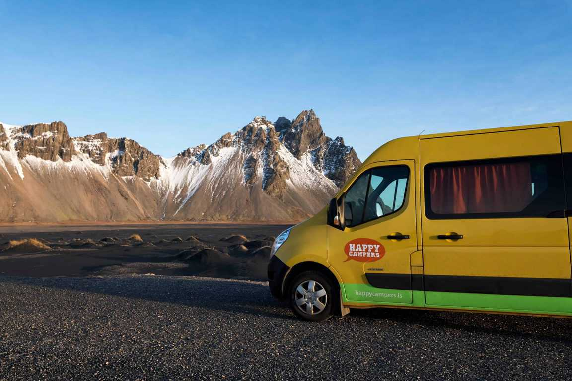 camping in iceland in a campervan | car camping in iceland