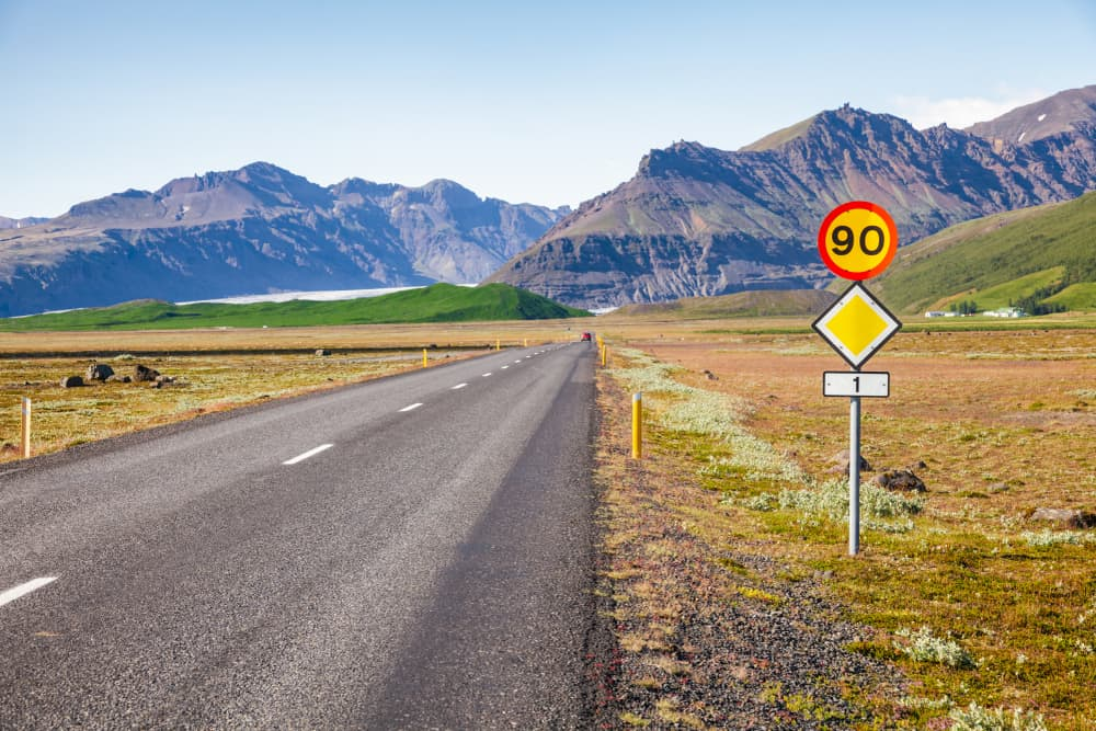 speed limits in iceland