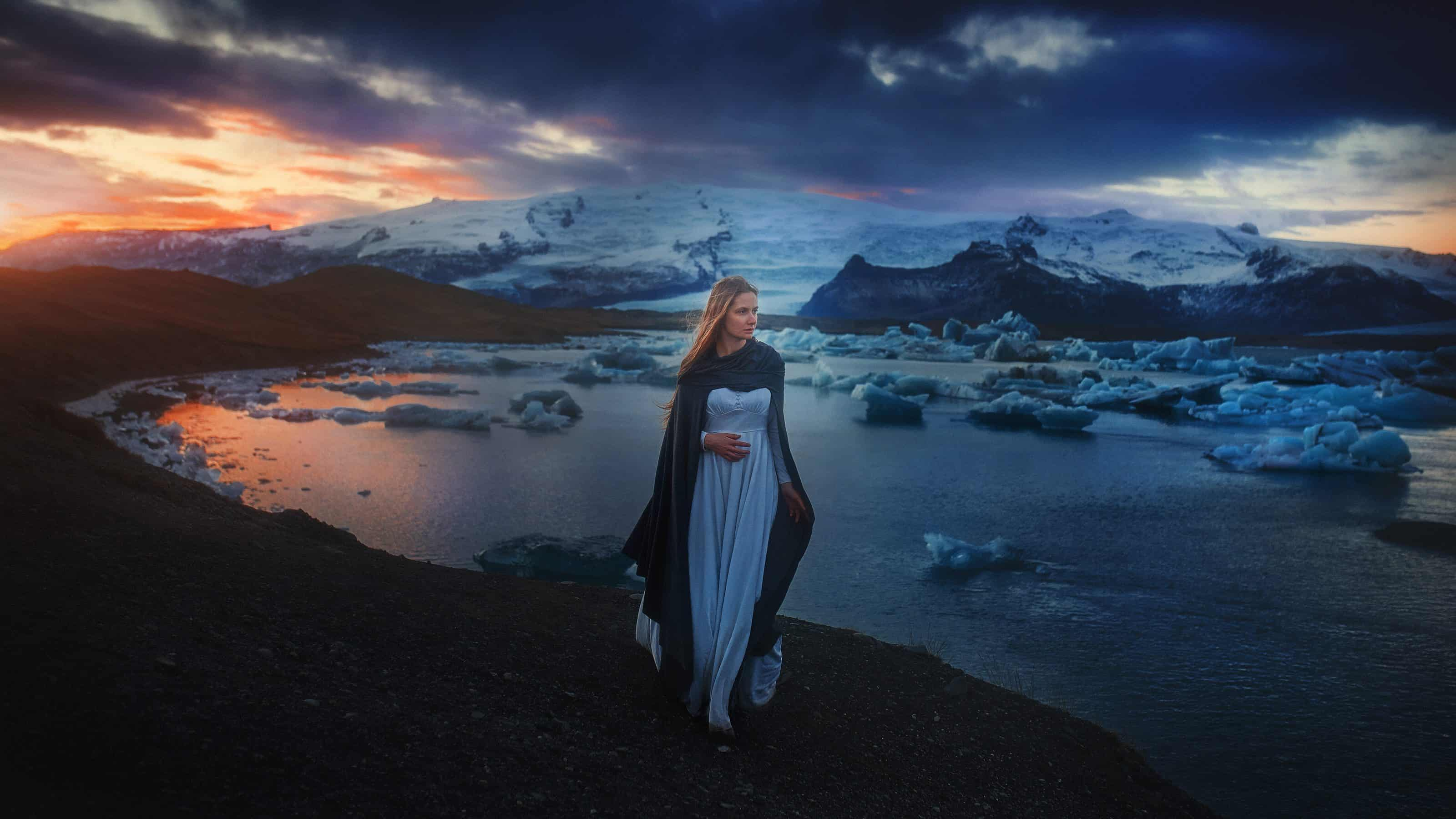 locations for photography in iceland glacier lagoon