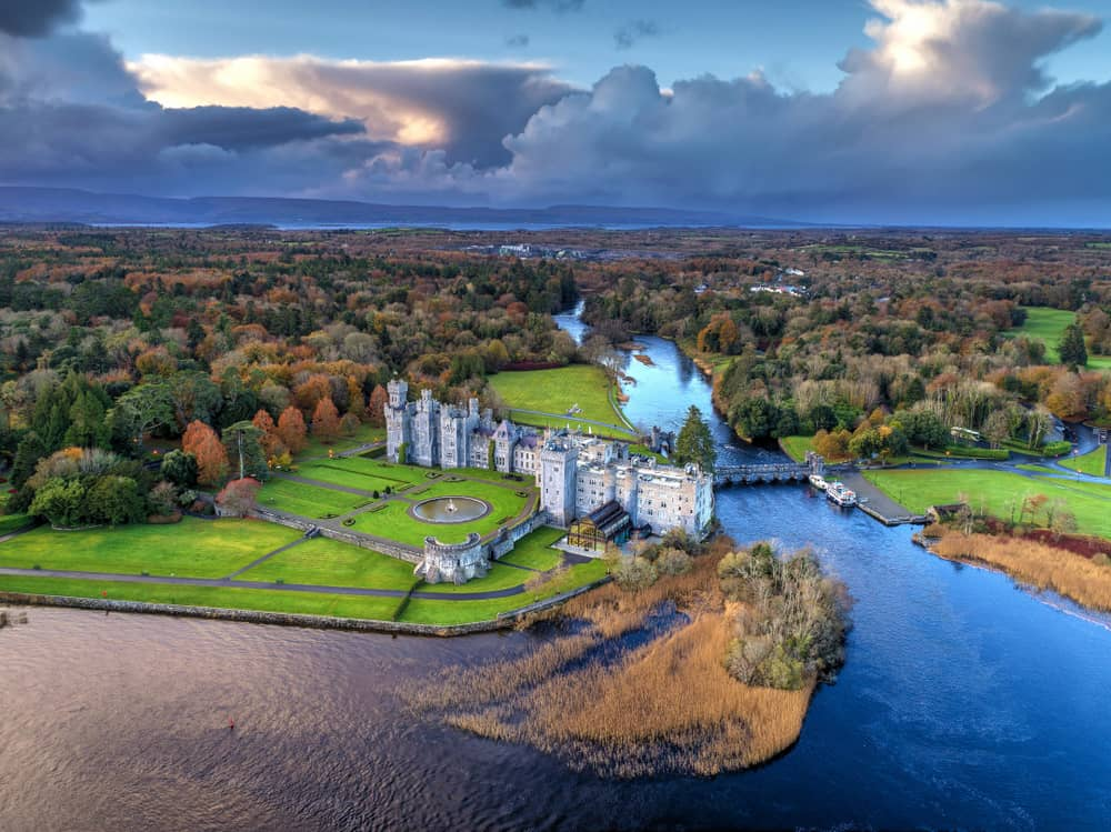 A stunning view of Ashford Castle, one of the best castle hotels in Ireland!