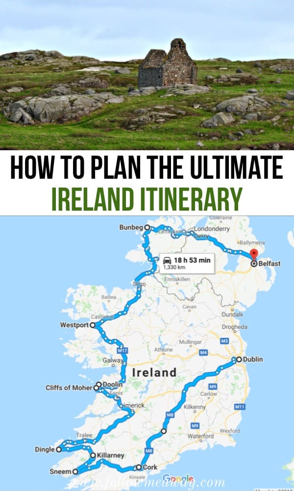 How to plan the ultimate ireland itinerary | top things to do in Ireland | planning an ireland road trip itinerary | ireland travel tips | what to do in ireland