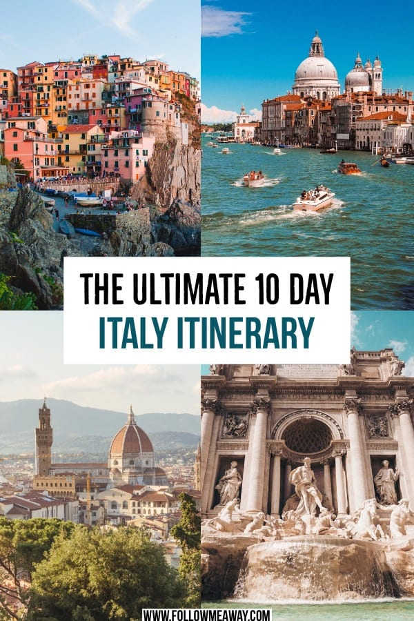 The Ultimate 10 day Italy Itinerary | how to spend 10 days in italy | the best italy itinerary | things to do in Italy in 10 days | top italy travel itinerary | italy for first timers | travel to italy for 10 days #italy #itinerary