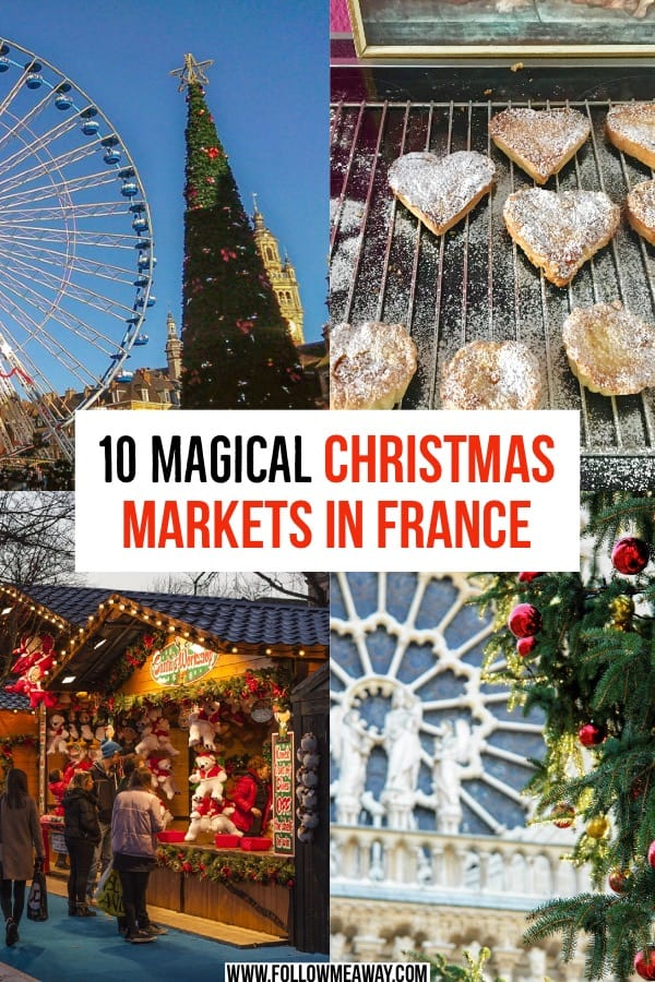 10 Magical Christmas Markets In France You Must See In 2018 | christmas markets in europe | best european christmas markets | top christmas markets in France and Europe | best 2018 European christmas markets | christmas travel tips
