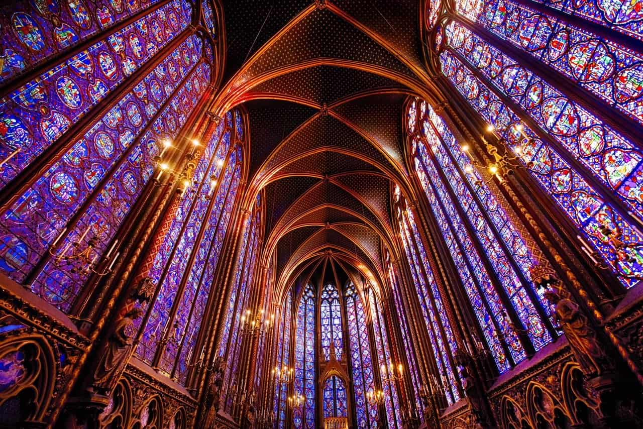 saint chapelle paris photography
