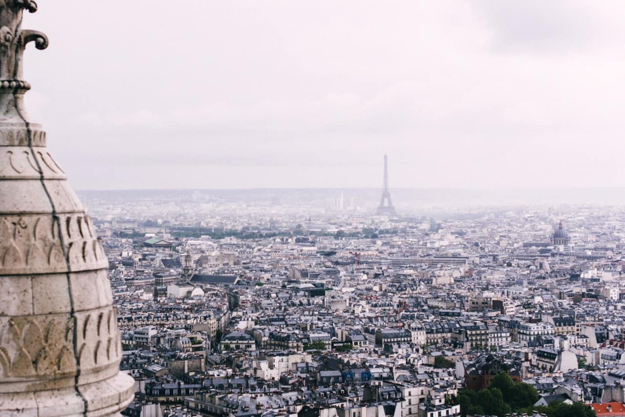 view from Paris basilica | paris things to do