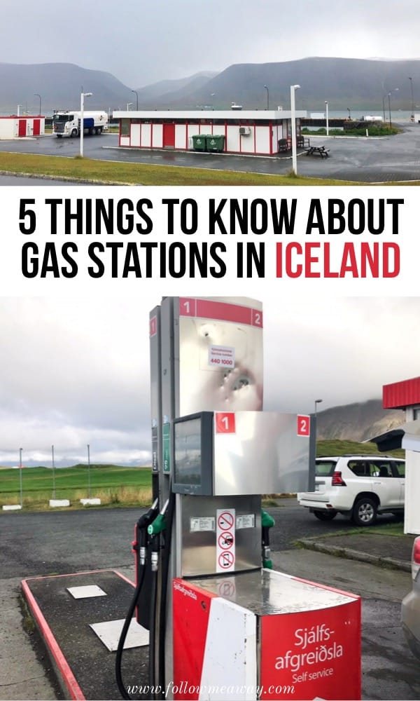 5 Things To Know About Gas Stations In Iceland | Iceland travel tips | How to get gas in Iceland | tips for visiting Gas stations in Iceland | how to plan a trip to Iceland