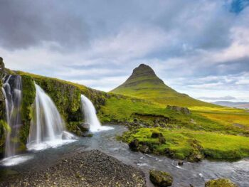 Snaefellsnes Peninsula: Tips, Maps, & 10 Things To Do | Kirkjufell Mountain Landscape in Iceland