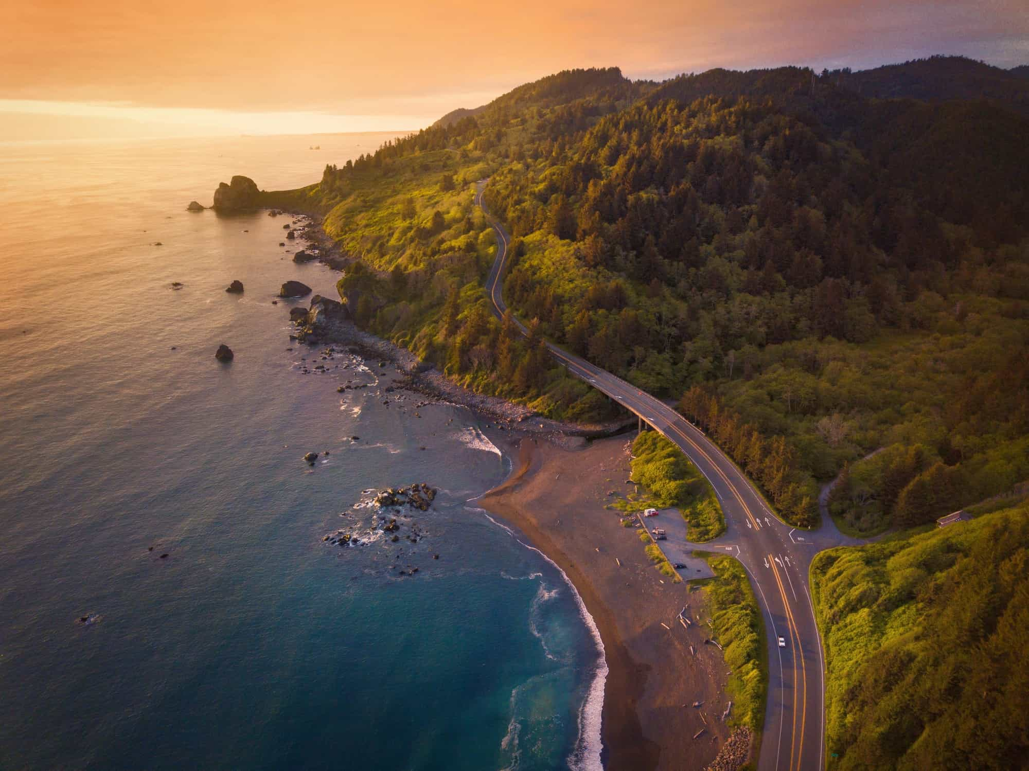 California Road Trip Using Best Road Trip Planner Apps | Pacific Coast Highway