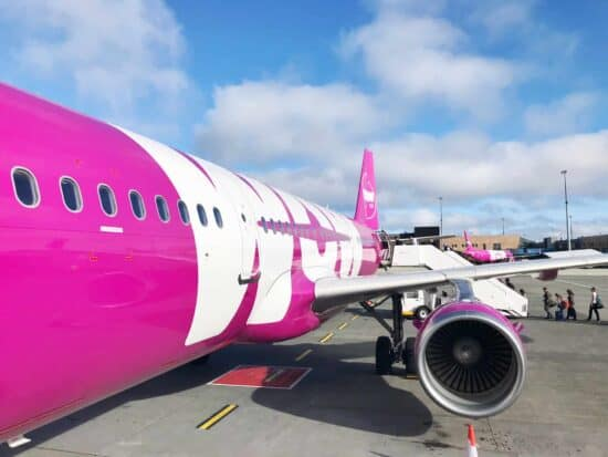 What It's Really Like Flying In WOW air Comfort Coach From Boston To Iceland