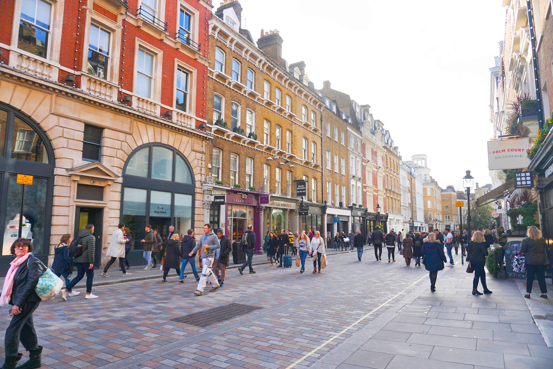King Street is the best shopping street in london | cute streets in London