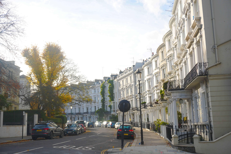 Ladbroke Gardens is the best London street to visit