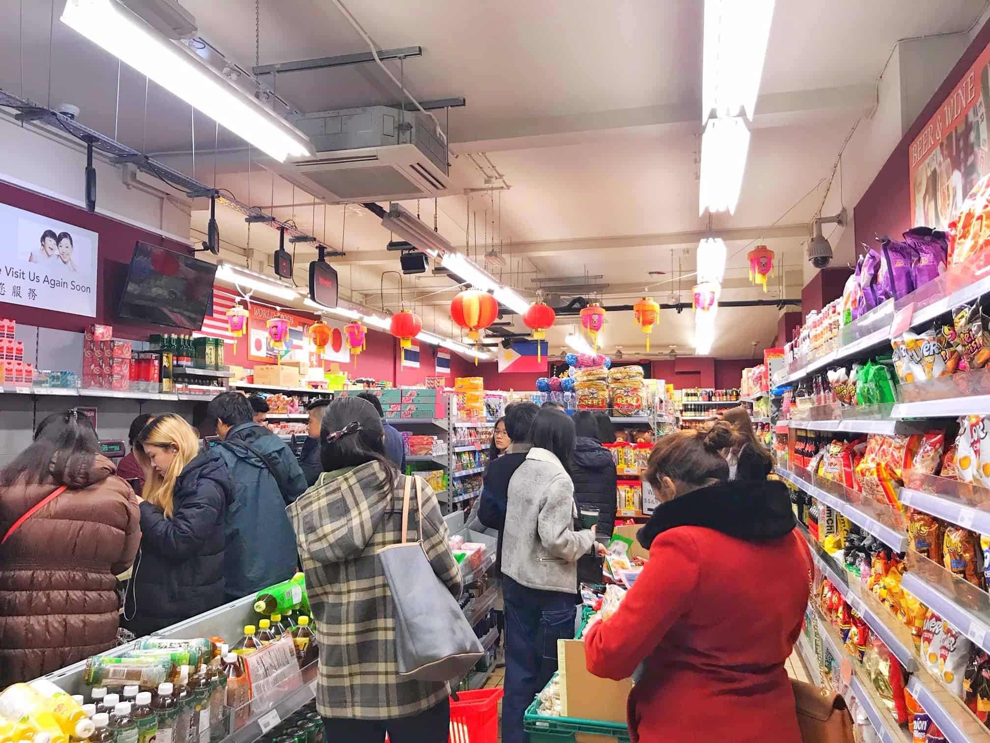 there are many great asian supermarkets in london