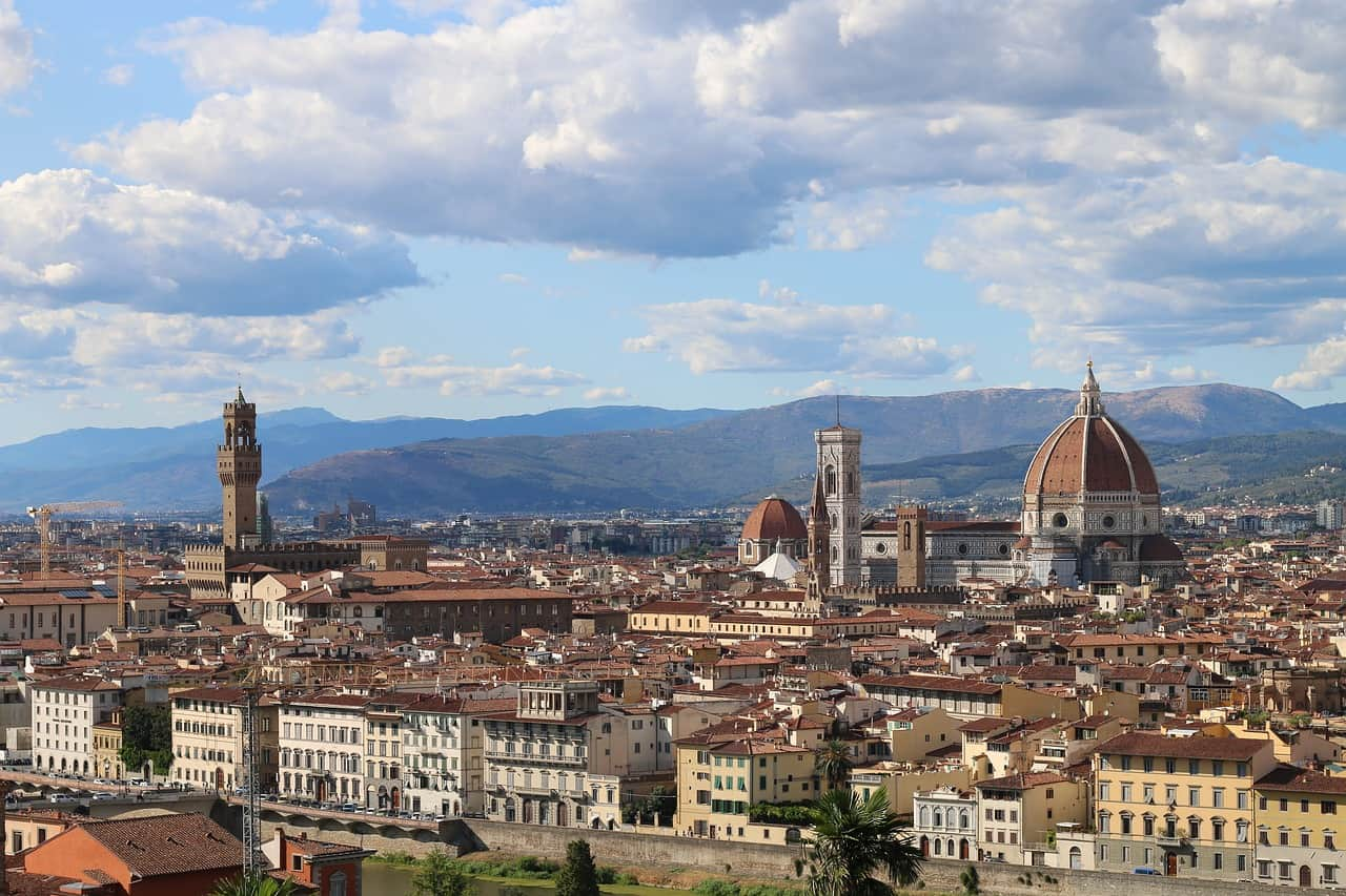 Begin your Tuscany road trip in florence
