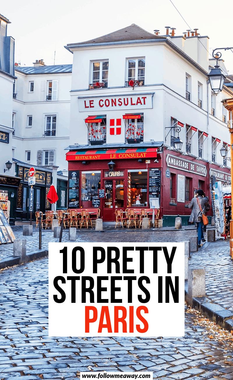10 pretty streets in paris
