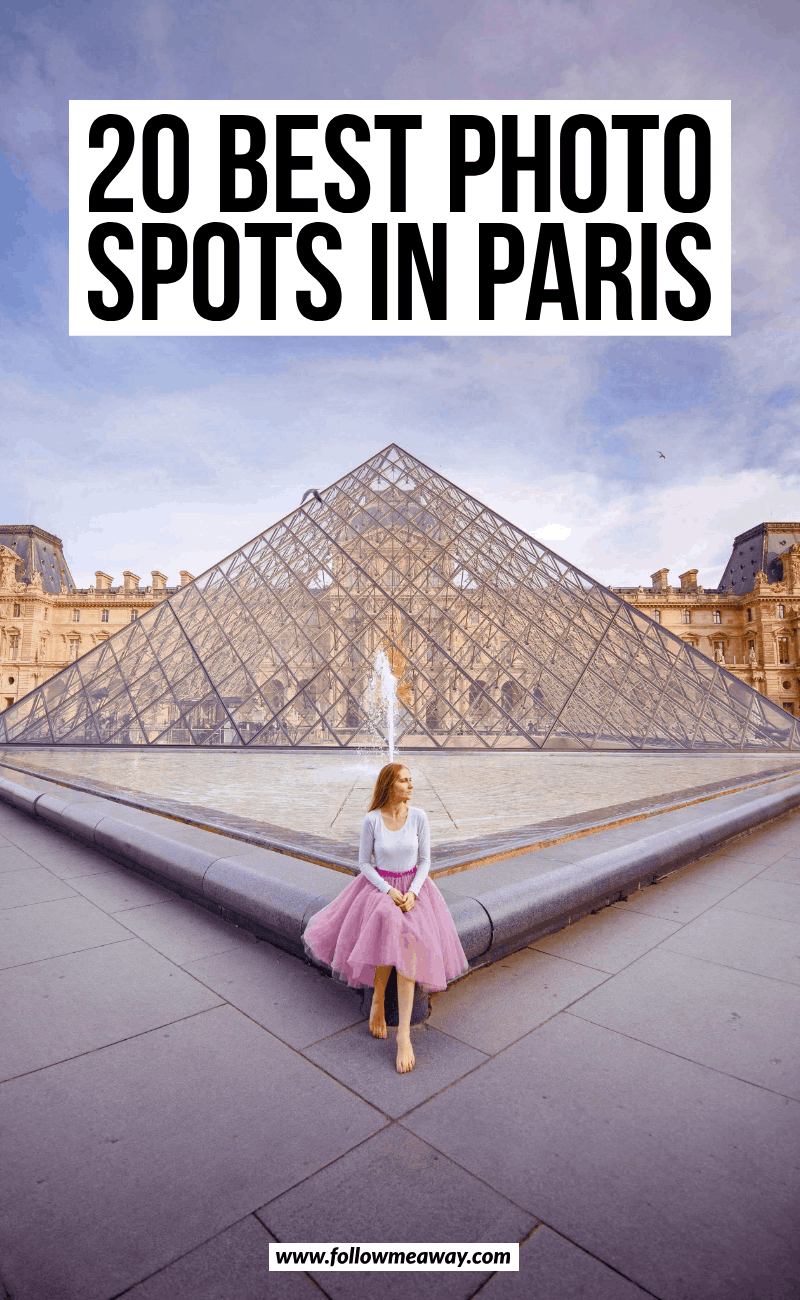 20 best photo spots in paris