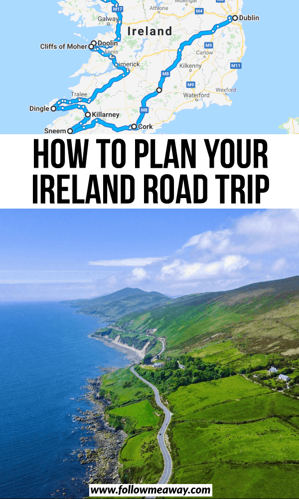 how to plan your ireland road trip