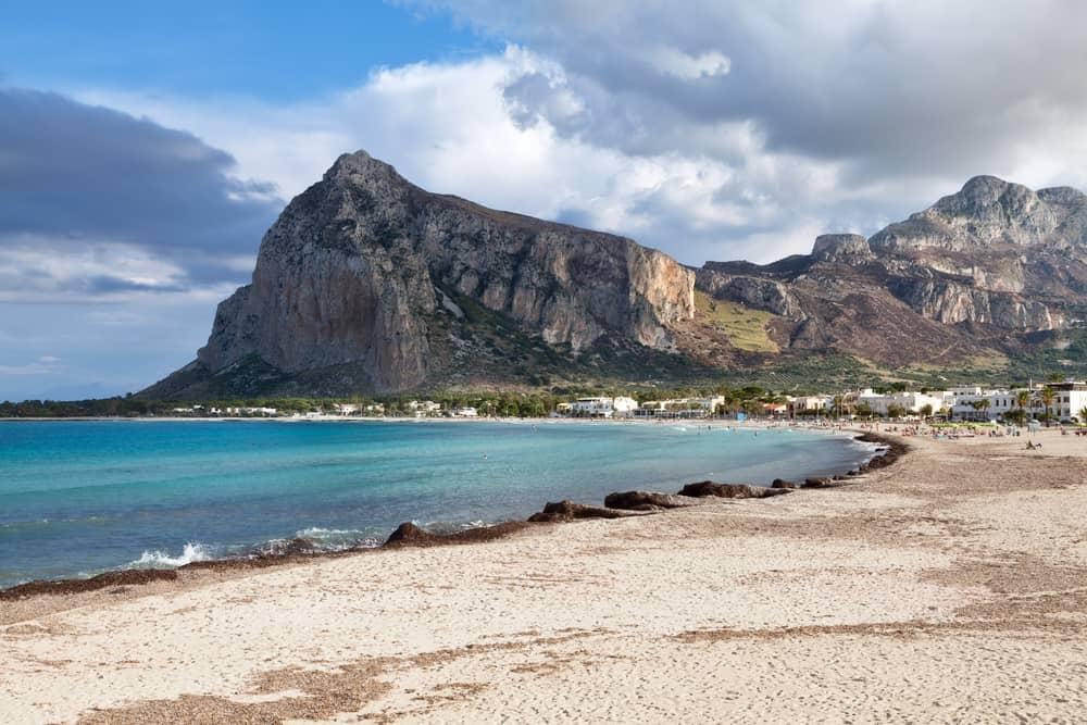 San Vito Lo Capo yra vienas gražiausių paplūdimių Sicilijoje