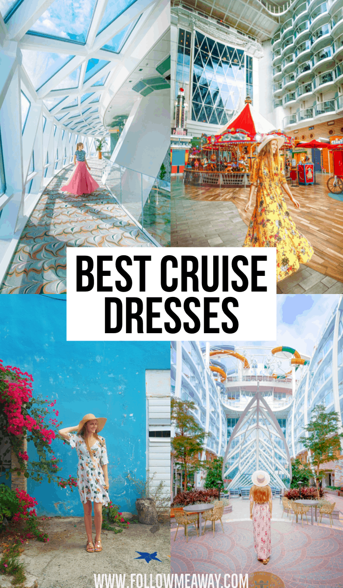 Best Cruise Dresses To Pack For Your Caribbean Cruise | packing for your cruise | cruise ship packing tips | tips for packing for a cruise | what to wear on a cruise | cruise outfits for women | outfits for a cruise