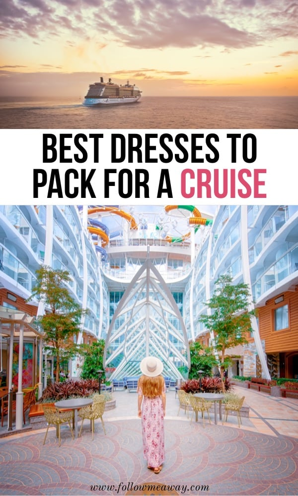 Best dresses to pack for a cruise | Best Affordable Cruise Dresses From Casual To Cocktail | formal dresses for a cruise | beach cruise dresses | cruise packing list | what to wear on a cruise in the Caribbean | how to pack for a Caribbean cruise