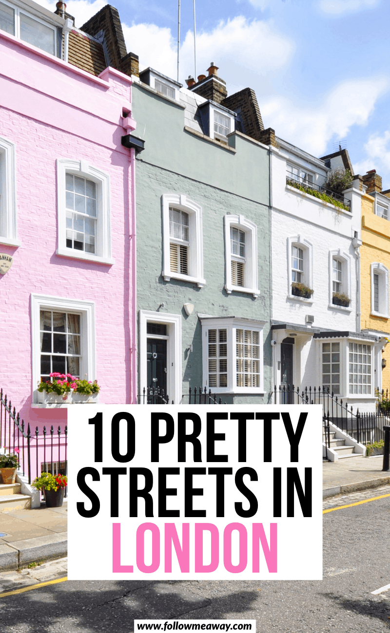10 pretty streets in london