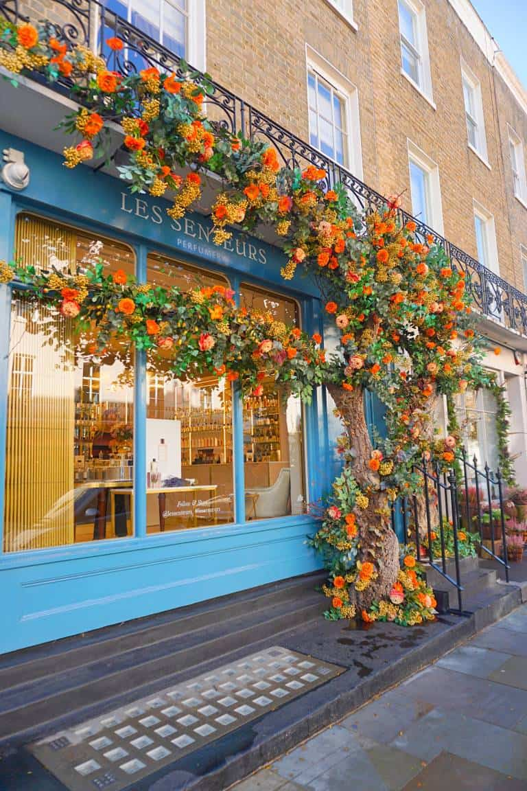 Les Senteurs Perfumery is one of the best london photography locations for Instagram
