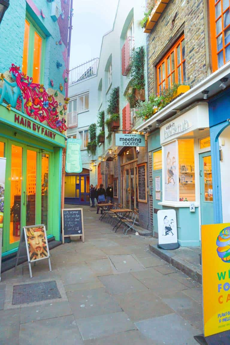 Neal's Yard is one of the most underrated London photography spots   hidden gems in London