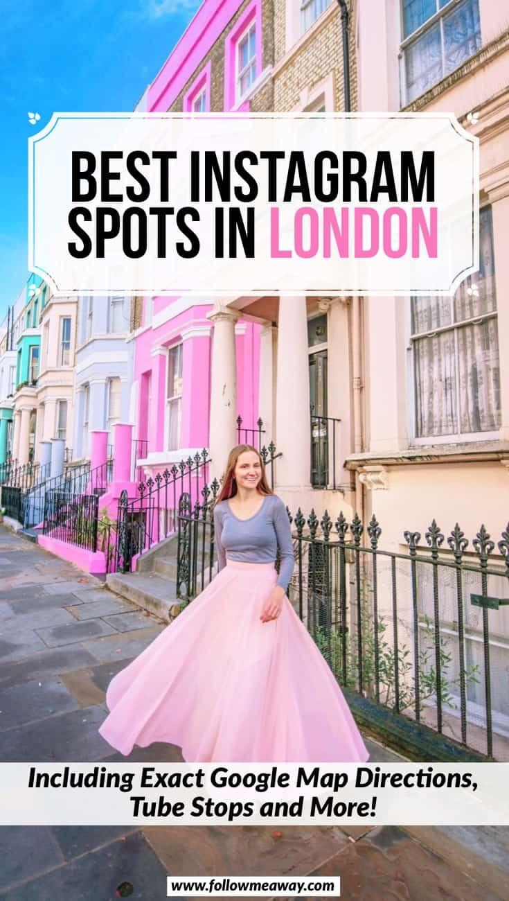 Best Instagram Spots In London   Prettiest Instagrammable Places In London   Pretty places in London   best things to do in London   London photography locations for Instagram   London photo locations   Instagram london tips