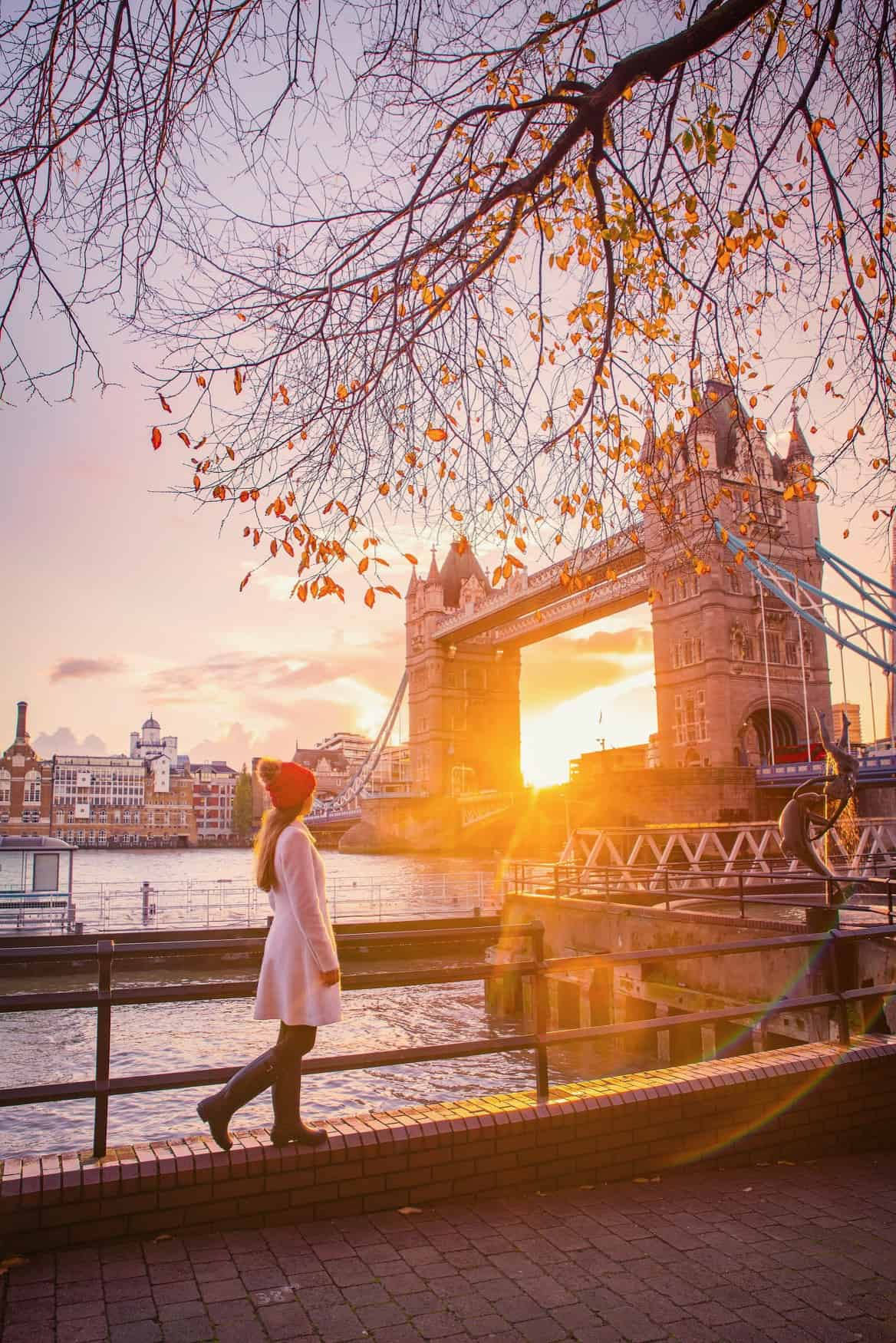 Tower bridge is one of the most Instagrammable places in London