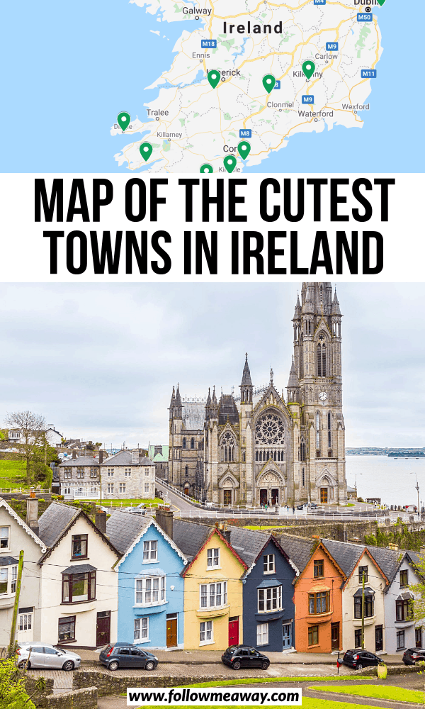 maps of the cutest towns in ireland