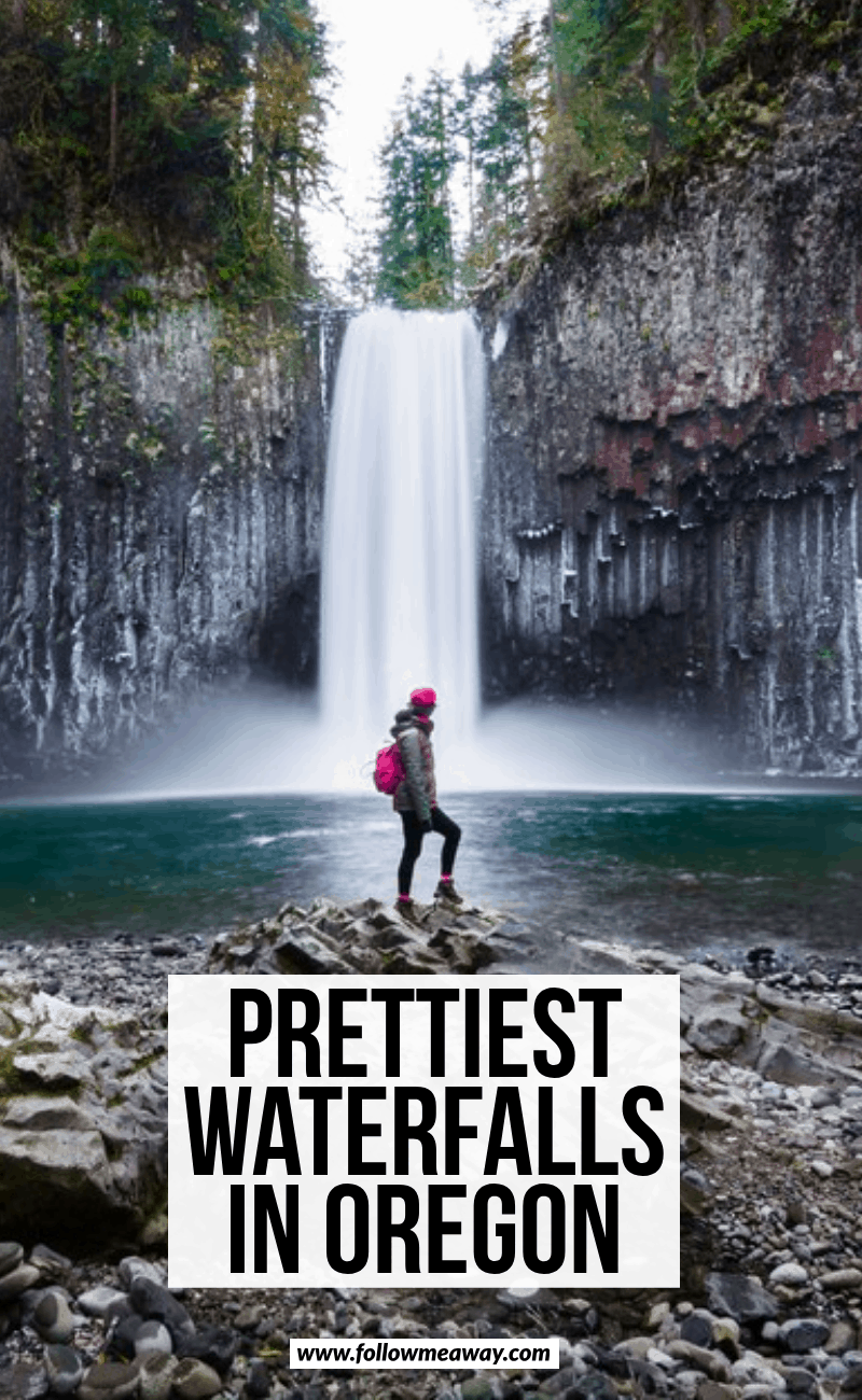 prettiest waterfalls in oregon