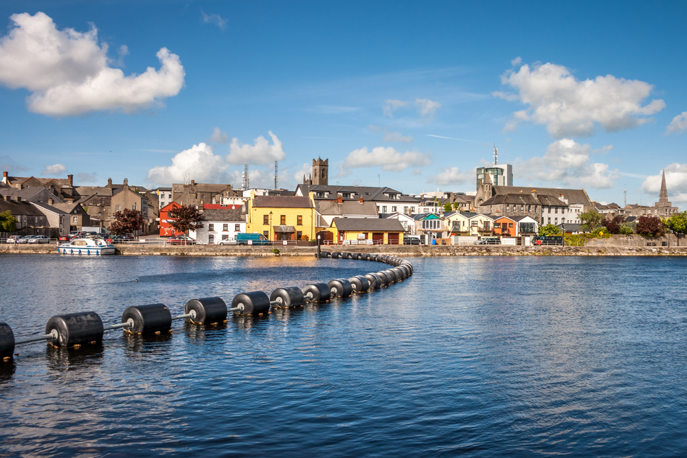 Stay in the waterside town of Athlone