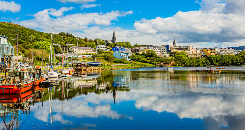 See the beautiful coast in Clifden