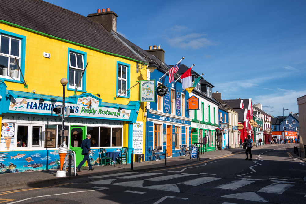 Dingle is a colorful Irish town