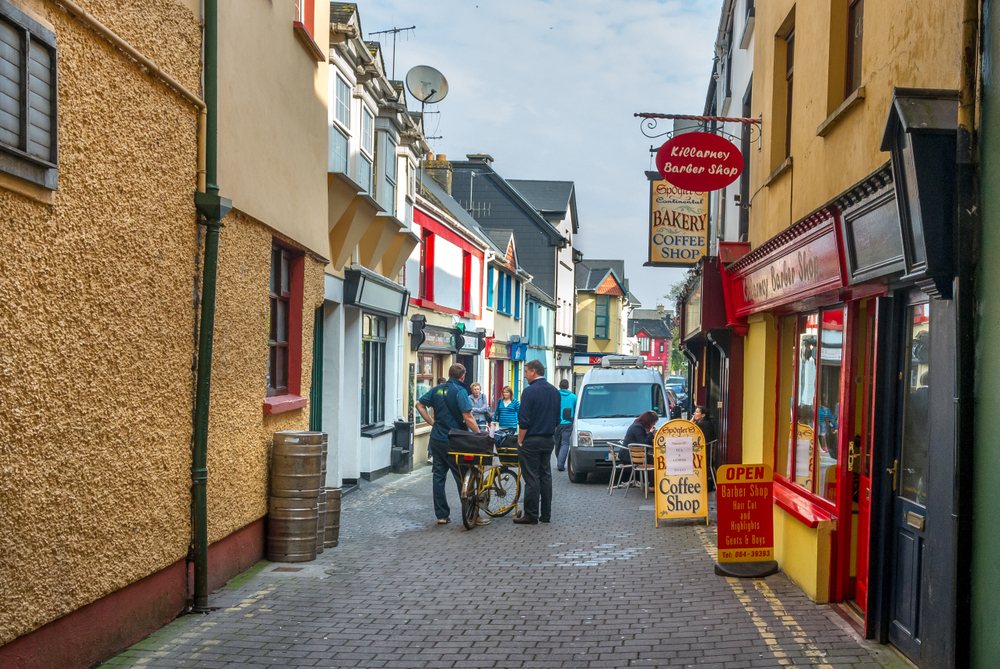 Stroll through the charming streets of Killarney