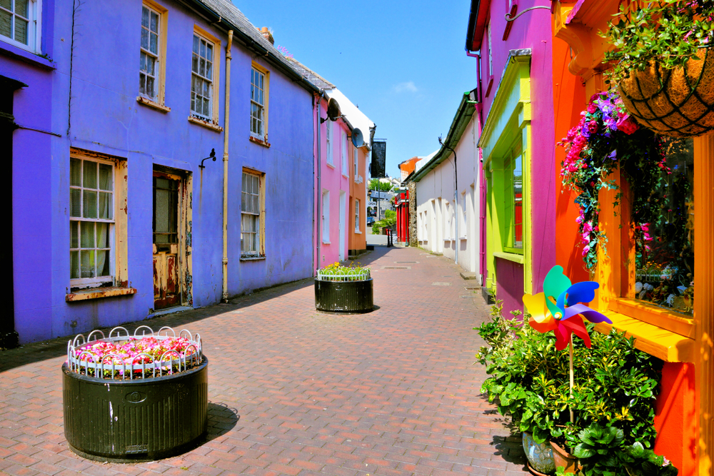 Kinsale is full of colorful streets