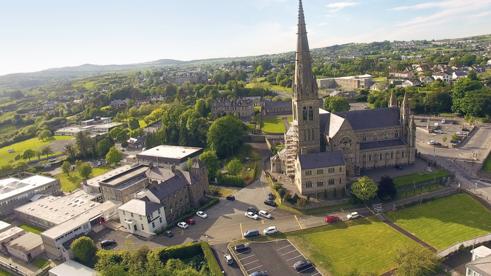 See the cathedral in Letterkenny