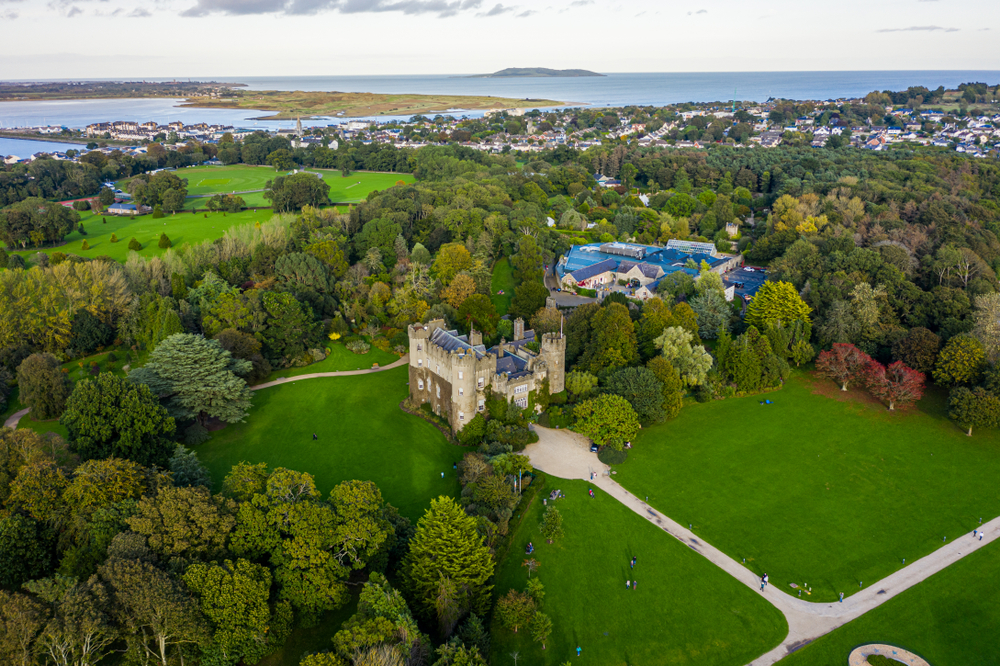 See the magnificent castle in Malahide