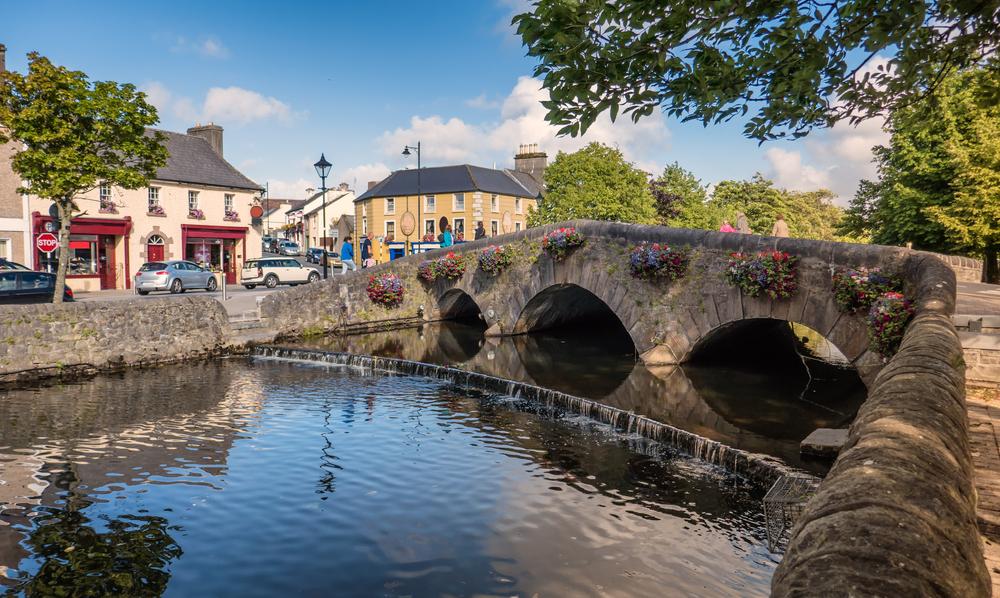 Visit Westport bridge while exploring Irish towns
