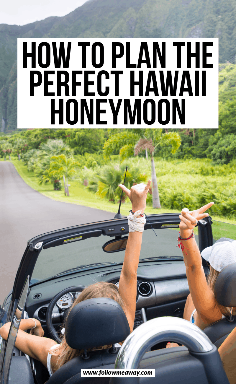 how to plan the perfect hawaii honeymoon